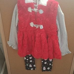 Little Lass three piece outfit size 5